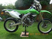 Kawasaki KLX 450R Not cbr wrf