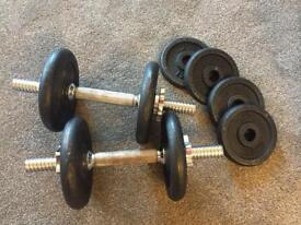Weights 15kgs total