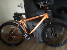 "20"" 24 speed men's carrera mountain bike"