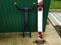GENUINE Landrover Bike Rack + Tow bar Mount (STC 7929)