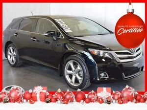 2015 Toyota Venza V6 4WD Limited JBL+GPS+Cuir+Toit Pano+Camera R