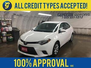 2015 Toyota Corolla LE*BACK UP CAMERA*KEYLESS ENTRY*PHONE CONNEC