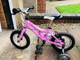 "Ridgeback bike 12"" pink minny"