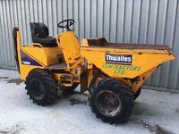 Thwaites 1T tonne ton High Tip skip loading Dumper 2007