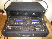Powered Mixer/ PA, CD Player combination with McGregor Amp and Citronic CD-1X CD