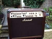 Marshall 100 watt AS100d soloist acoustic amp ..Mint ..as new ...not used
