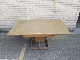 Extendable Dining Table With Quite Unusual Base