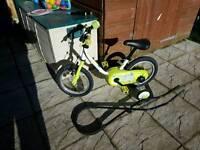 Decathlon b-twin 3in1 training bike