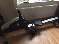 Carl Lewis exercise fitness gym rowing machine equipment . Folds up for storage
