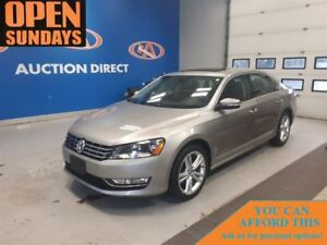 2012 Volkswagen Passat TDI! DIESEL!HIGHLINE! LEATHER! NAVIGATION