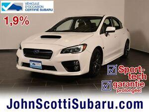 2015 Subaru WRX Sport Tech 1.9% GARANTIE
