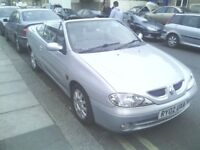RENAULT MEGANE 1.6 CONVERTIBLE 40 K ONLY LONG MOT PX WELCOME