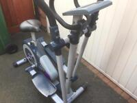 Cross trainer/cycling fitness machine by Jessica Ennis