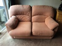 3 and a 2 sofa