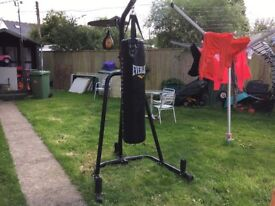 Confidence Heavy Duty Boxing Punch Bag Stand with punchbag and speedball