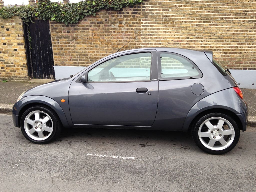 ford ka sport 2004 1 6 low mileage grey maintenance. Black Bedroom Furniture Sets. Home Design Ideas