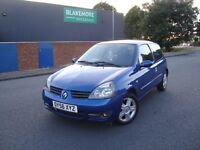 RENAULT CLIO CAMPUS SPORT - LONG MOT - IDEAL FIRST OR LEARNER CAR - FREE DELIVERY - P/X WECLOME
