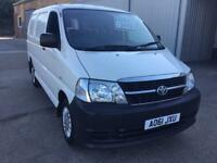 Toyota hi ace 280 2.5 d4d, 1 company owner from new
