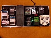 selling all my guitar pedals