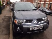 MITSUBISHI ANIMAL L 200 PICK UP GREY FULLY LOADED PRIVATE PLATE 2007