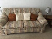 3 Seat Settee and 2 Chairs