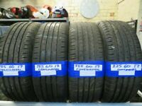 225 60 17 MATCHING CONTINENTAL & HANKOOK TYRES X2 £80 X4 £150 BAL & FITTING INCLUDED OPEN 7 DAYS