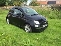 61 reg fiat 500 lounge with pan sun roof