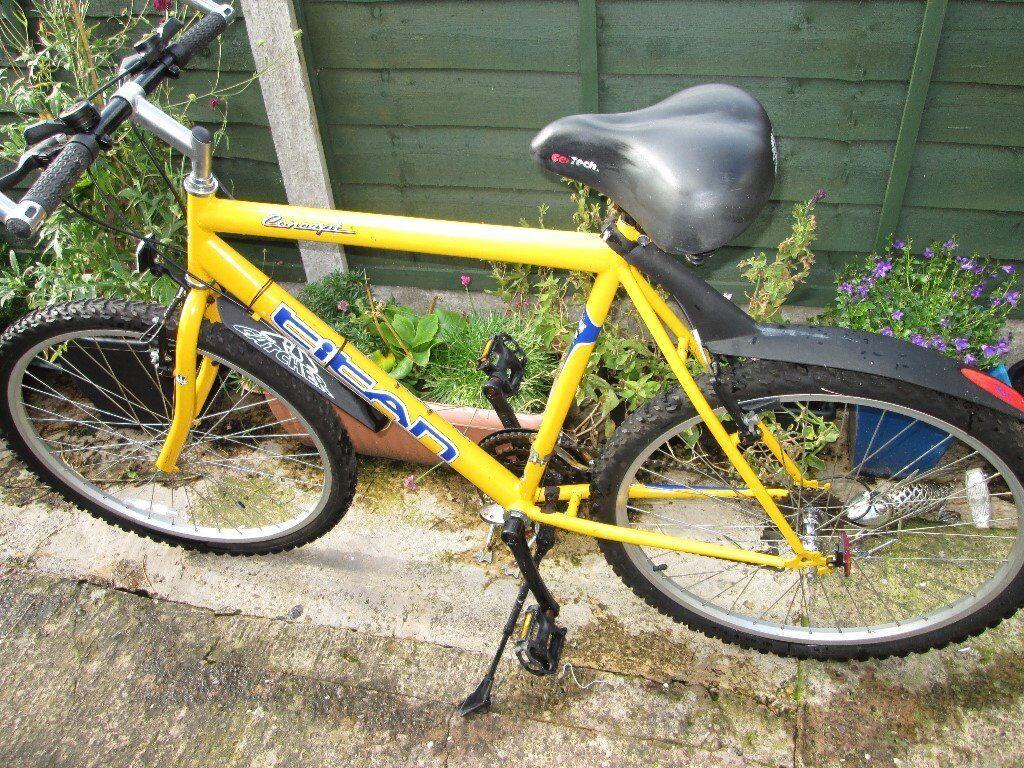 "Gents Mountain Bike ""Yellow Peril"""