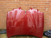 jaguar s type bonnet colour code CGG RED