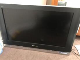 Panasonic Vera Television and remote
