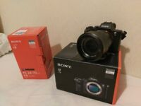 Sony A7II (mk2) Full Frame DSLR with Carl Zeiss 24-70 F4 Lens Boxed SWAP canon 5D mk2 or leica
