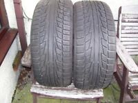 Tyres as new 225/45 R17 . 2 Tyres Only used 3 months Cost £180