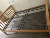 Double Bed Frame & Mattress