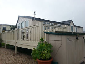 2 Bedroom Atlas Concept 2 static mobile home situated at Rosneath Caravan Park