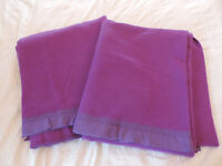 Two Purple Vintage 100% Pure Wool Whitney Blankets - £15 each