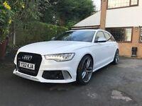 Audi A6 3.0TDi RS6 LOOK Avant sline Fully loaded extras (£130 Roadtax)