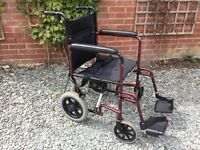 Z Tech lightweight transit wheelchair