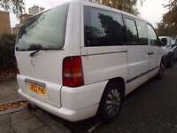 MERCEDES BENZ VITO 108 2.1 CDI TRAVELINER MINIBUS ##### 8 SEATER MPV ESTATE