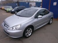 2004 PEUGEOT 307 CC 2.0 2DOOR CONERTIBLE, SERVICE HISTORY, CLEAN LIKE NEW, DRIVES VERY NICE