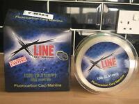 X Line 15lb 600 meters fluorocarbon carp mainline, fishing line