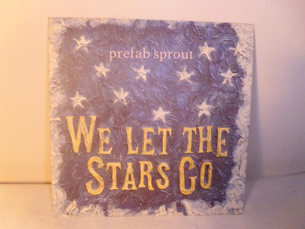 "PREFAB SPROUT ""WE LET THE STARS GO"" VINYL 7"" SINGLE"