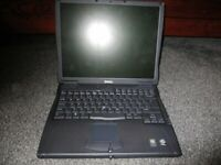 Dell Latitude C540 Laptop (Sparess or repair) (But Working)