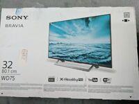 "Sony Bravia 32"" television"