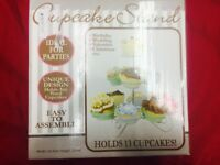 Metallic cupcake stand - 13 cupcakes