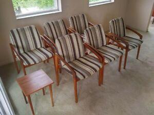 6 Korup Stolefabrik chairs. $400 per chair