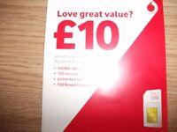 Vodaphone sim card