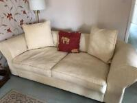 Collins & Hayes large sofa and arm chair