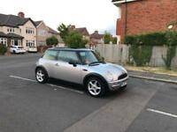 Mini Cooper 1.6 Petrol Year 2002 Half leather Interior 1 Year Mot & Very Low Mileage