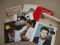 6 ORIGINAL VINYL ALBUMS BY SELECTED ARTISTS SUCH AS MICHAEL JACKSON