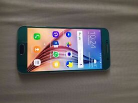 Samsung s6 blue 64gb immaculate